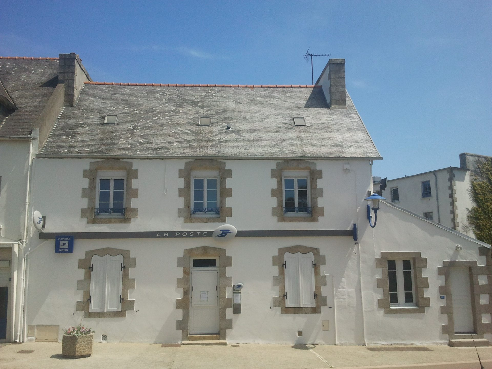 L'agence postale communale à Locquirec